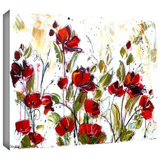 ArtWall Jolina Anthony 'Floral' Gallery-Wrapped Canvas