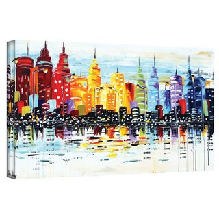 ArtWall Jolina Anthony 'Citylife' Gallery-Wrapped Canvas