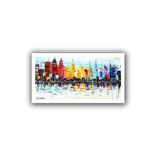 ArtWall Jolina Anthony 'Citylife' Unwrapped Canvas