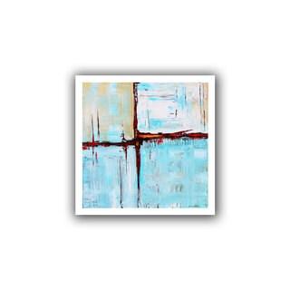 ArtWall Jolina Anthony 'Winterpane' Unwrapped Canvas