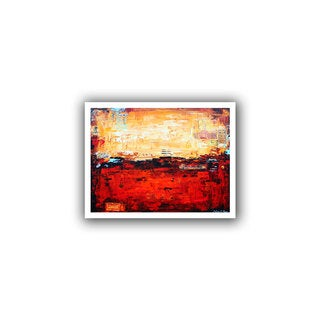 ArtWall Jolina Anthony 'Abstract Warm' Unwrapped Canvas