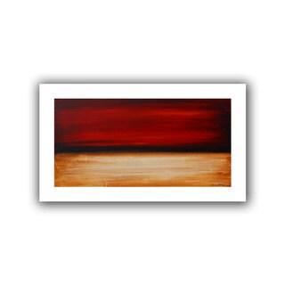 ArtWall Jolina Anthony 'Desertsunset' Unwrapped Canvas