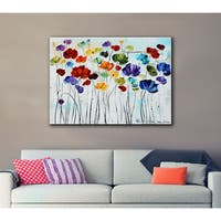 Jolina Anthony 'Lilies' Gallery Wrapped Canvas