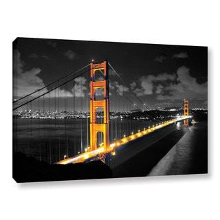 ArtWall Revolver Ocelot 'San Fransico Bridge I' Gallery-Wrapped Canvas