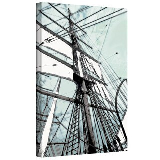 ArtWall Linda Parker 'Sailing on Star of India II' Gallery-Wrapped Canvas