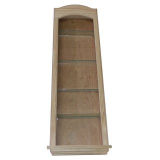 Curve Top 42-inch Solid Pine In-the-Wall Cove Niche