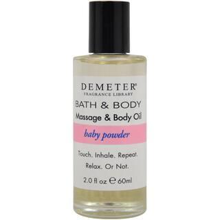 Demeter Baby Powder 2-ounce Massage & Body Oil|https://ak1.ostkcdn.com/images/products/8959839/P16170420.jpg?impolicy=medium