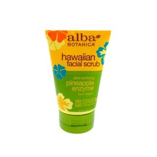 Alba Botanica Hawaiian Pineapple Enzyme Facial 4-ounce Scrub