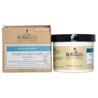 Dr. Miracle's Temple and Nape Gro 4-ounce Balm