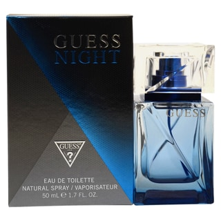 Guess Night Men's 1.7-ounce Eau de Toilette Spray