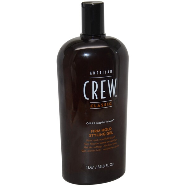 American Crew Styling Firm Hold Men's 33.8-ounce Gel