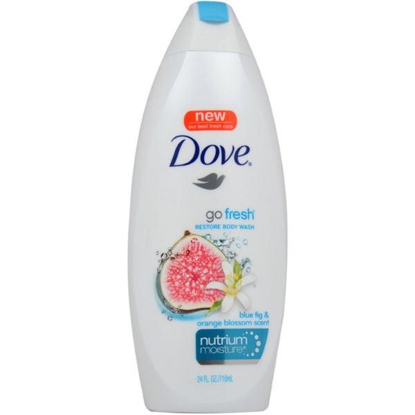 Dove Go Fresh Restore 24-ounce Body Wash