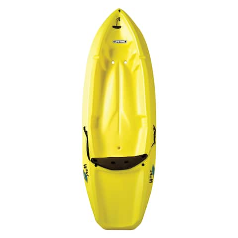Lifetime Wave Yellow Kayak