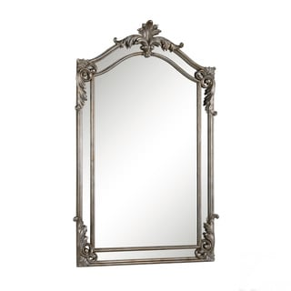 Somette Antiqued Silvertone Wall Mirror