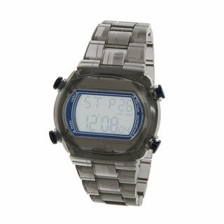 Adidas 'Candy' Transparent Grey Digital Watch