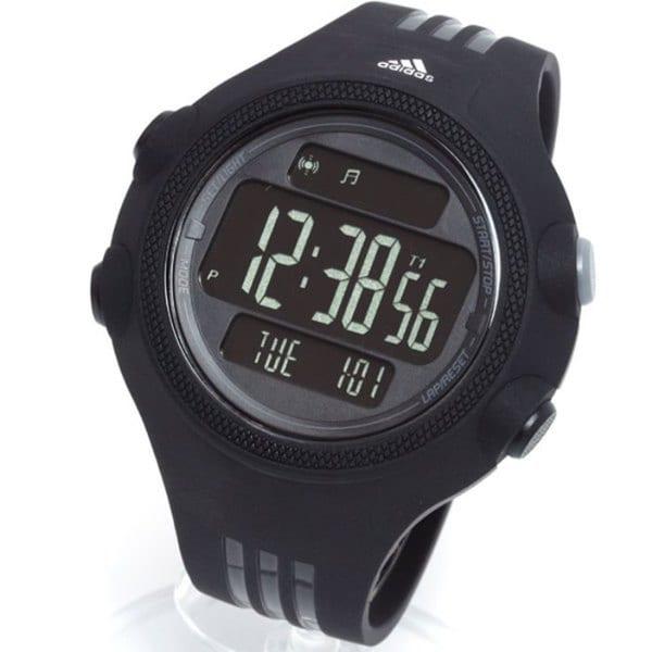 Shop Adidas Men's 'Questra' Black Digital Watch