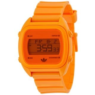 Adidas Men's 'Sydney' Orange Digital Watch