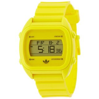 Adidas Men's 'Sydney' Yellow Digital Watch