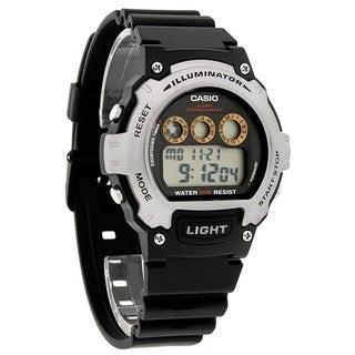 Casio Illuminator Sports Digital Chrono Watch W214H-1AV