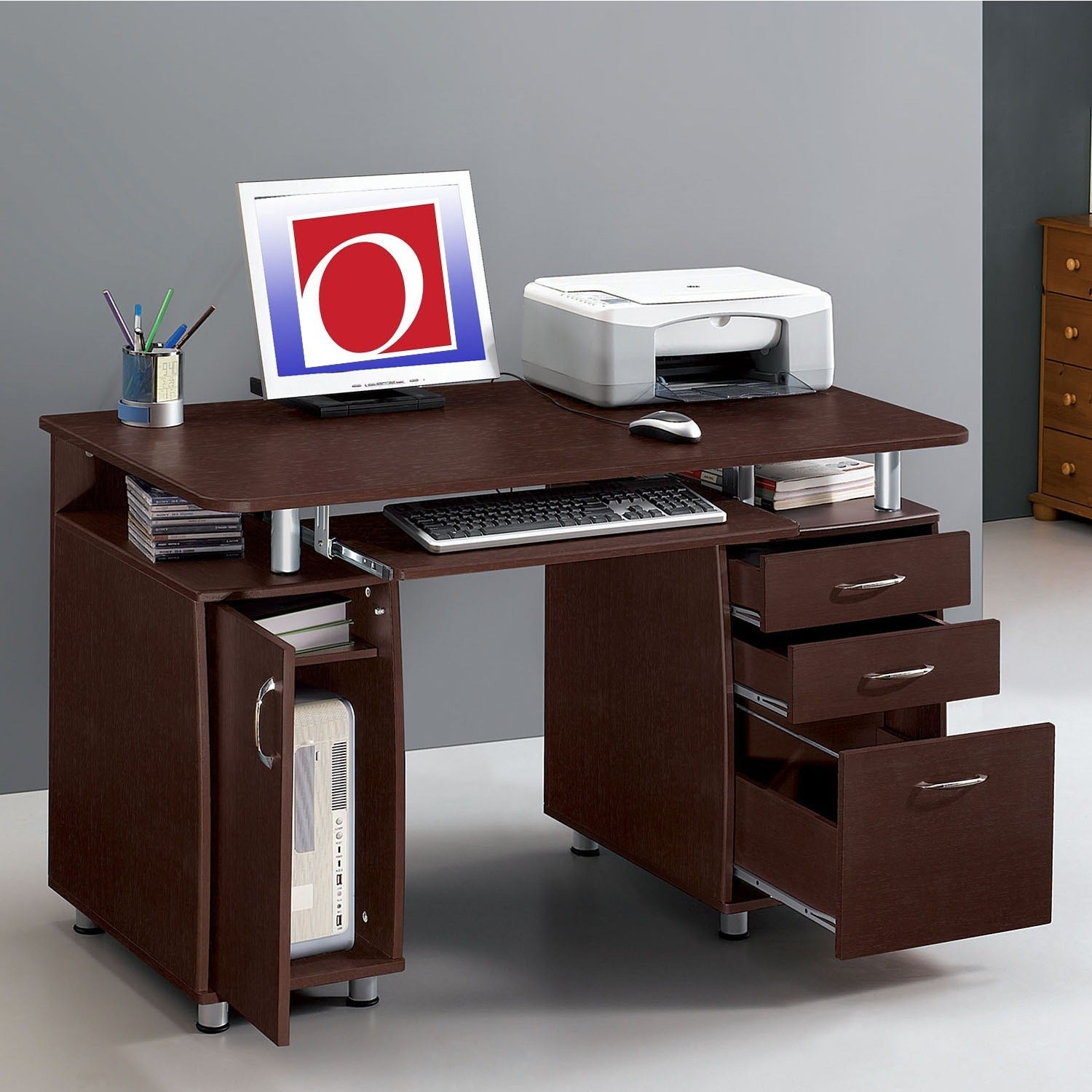 Modern Designs Multifunctional Office Desk with File Cabinet & Shop Modern Designs Multifunctional Office Desk with File Cabinet ...