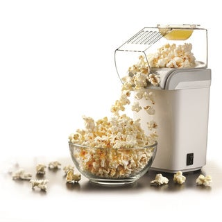Brentwood White Hot Air Popcorn Maker