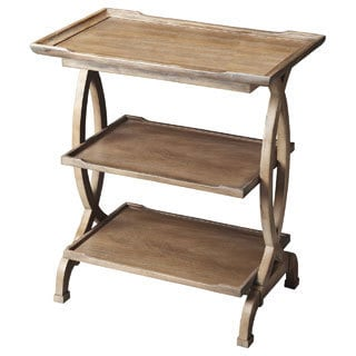 Driftwood Side Table and Handy Shelf