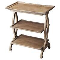 Handmade Driftwood End Table and Handy Shelf (China)