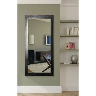 American Made Rayne Black Grain Full Length Mirror