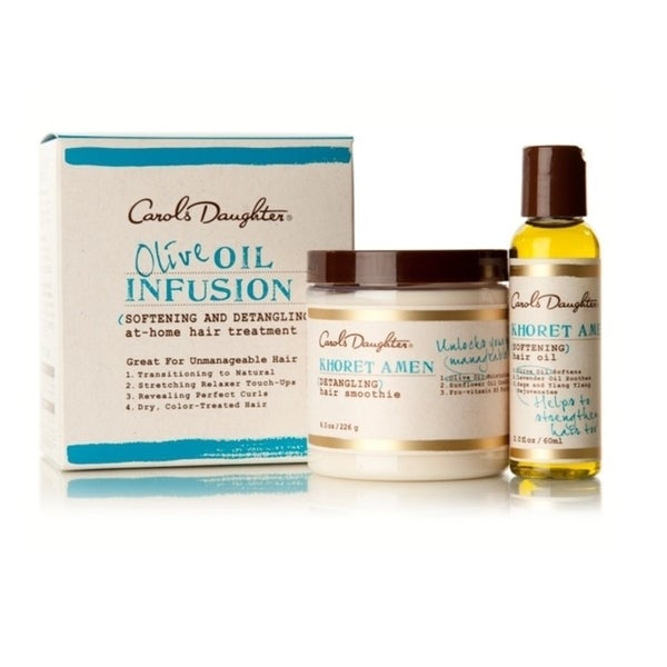 Carol's Daughter Oil Infusion At-home Hair Treatment Set