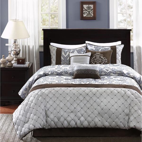 Shop Madison Park Winchester 7 Piece Comforter Set Free
