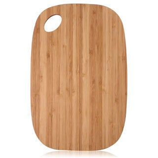 100-percent Natural Bamboo .33-inch Thick Chopping Board