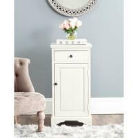 Safavieh Jett White Storage Cabinet