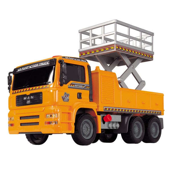 Dickie Toys Truck with Lifting Platform