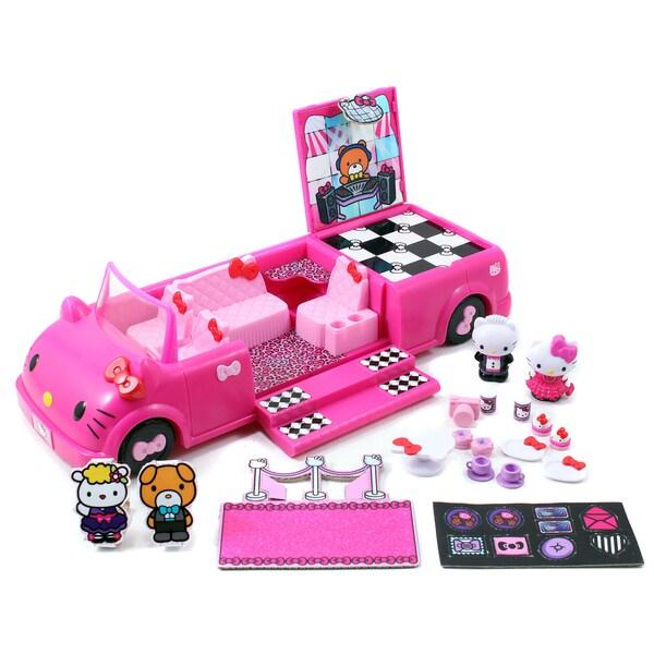 Jada Toys Hello Kitty Dance Party Limo Playset