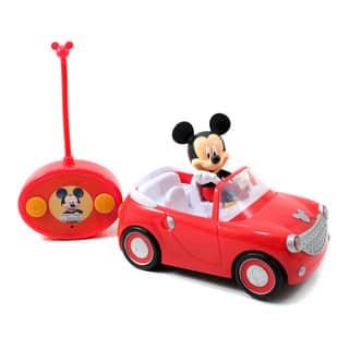 Jada Toys Disney Mickey Mouse Radio Control Car|https://ak1.ostkcdn.com/images/products/8962394/Jada-Toys-Disney-Mickey-Mouse-Radio-Control-Car-P16172536.jpg?impolicy=medium