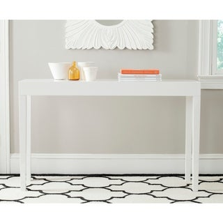 "Safavieh Kayson White Lacquer Console Table - 51.2"" x 13.4"" x 31.5"""