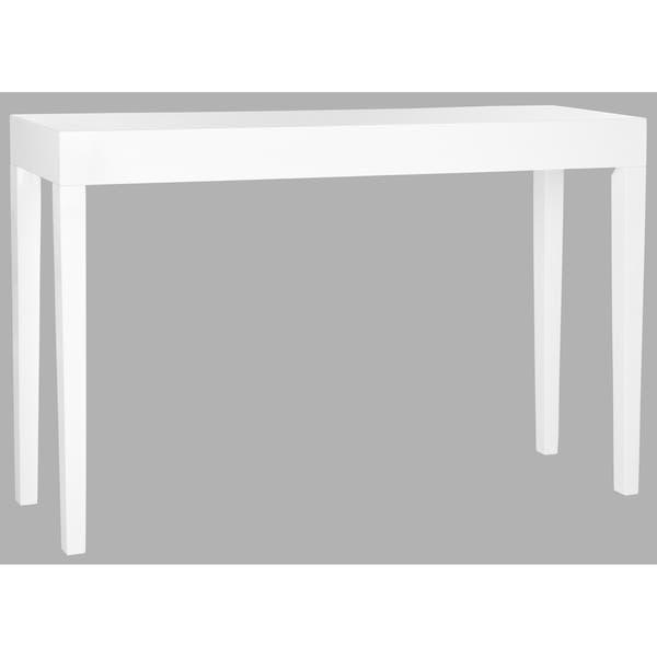 Safavieh Kayson White Lacquer Console Table 51 2 X