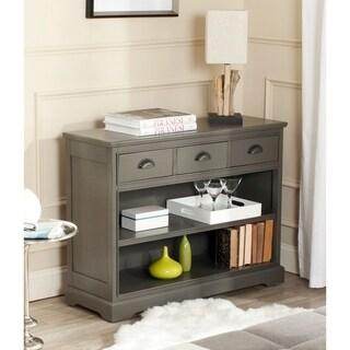 "Safavieh Prudence Grey Storage Bookshelf Unit - 39.4"" x 13.8"" x 29.9"""