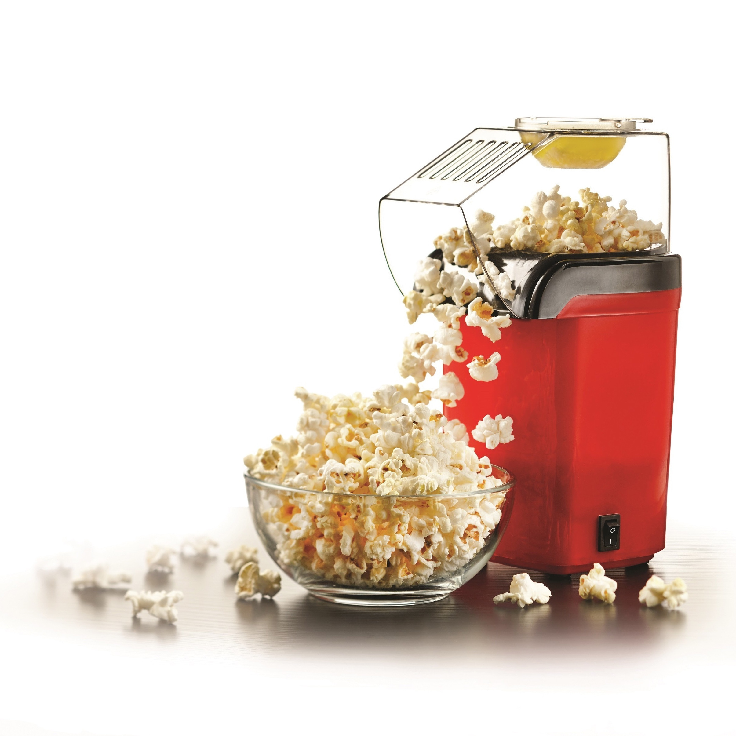 Brentwood PC-486R Red Hot Air Popcorn Maker (Plastic)