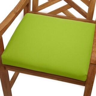 Bristol 19-inch Indoor/ Outdoor Macaw Green Chair Cushion with Sunbrella Fabric