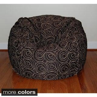 36-inch Wide Loop Washable Bean Bag Chair