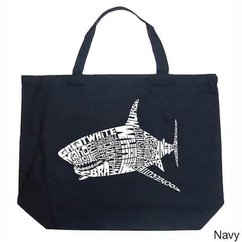 Shark Names Shopping Tote Bag