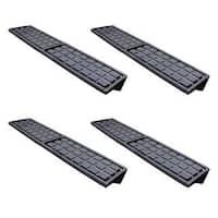 Palram Black Aluminum Shelf Kit
