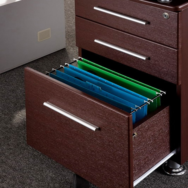 Locking File Cabinet Computer Desk