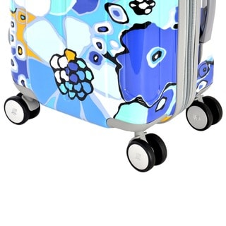 Olympia Blossom II 29-inch Spinner Upright Suitcase