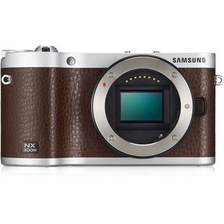 Samsung NX300M Mirrorless 20.3MP Wi-Fi Brown Digital Camera Body