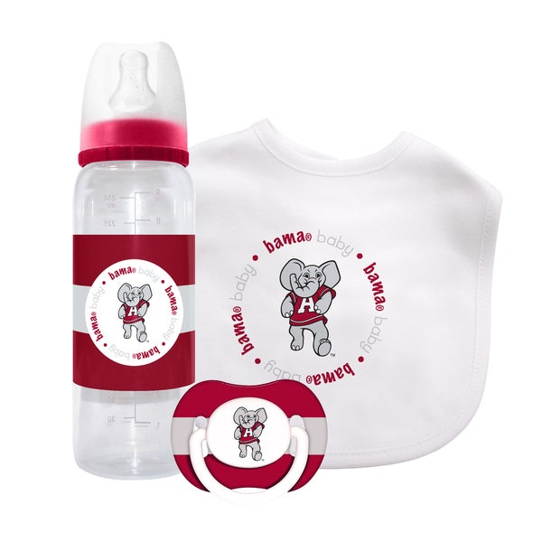 NCAA Alabama Crimson Tide 3-piece Baby Gift Set