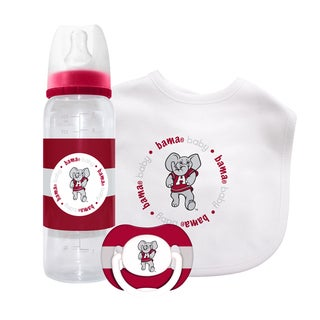 NCAA Alabama Crimson Tide 3-piece Baby Gift Set