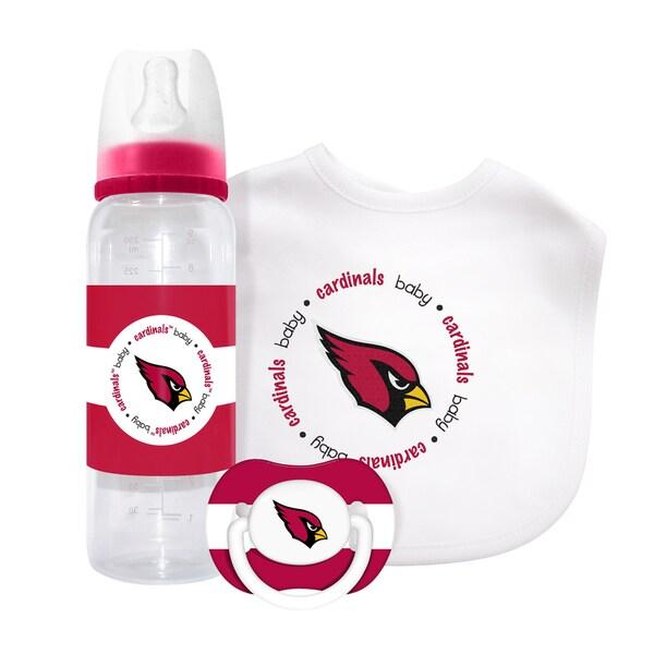 NFL Arizona Cardinals 3-piece Baby Gift Set