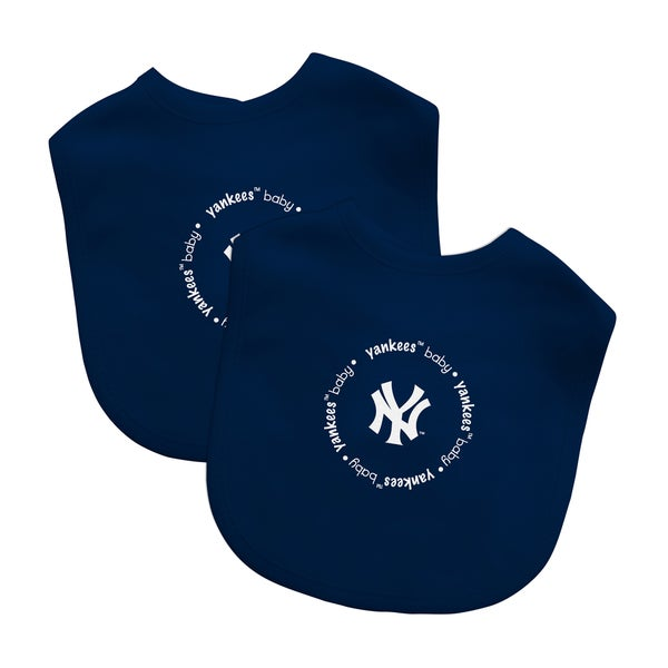 MLB New York Yankees 2-pack Baby Bib Set